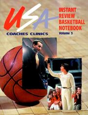 Cover of: USA Coaches Clinics Instant Review Basketball Notebooks, Vol. 3 | Bob Murrey
