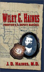 Cover of: Wiley G. Haines | J. D. Haines