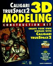 Cover of: 3D modeling construction kit