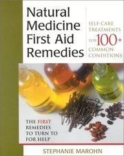 Cover of: Natural Medicine First Aid Remedies