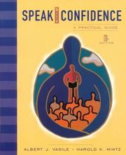 Cover of: Speak with confidence | Albert J. Vasile