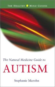 Cover of: The Natural Medicine Guide to Autism (The Healthy Mind Guides)