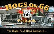 Cover of: Hogs on 66 Postcards | Michael Wallis
