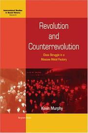 Cover of: Revolution and counterrevolution