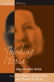 Cover of: Thinking utopia |