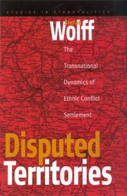 Cover of: Disputed territories | Stefan Wolff