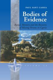 Cover of: Bodies of evidence | Paul Sant Cassia