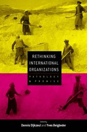 Cover of: Rethinking International Organizations