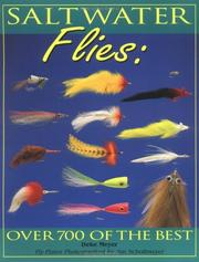 Cover of: Saltwater flies