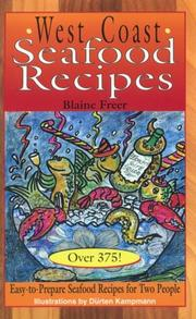 Cover of: West Coast seafood recipes