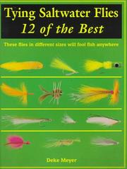 Cover of: Tying saltwater flies