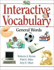 Cover of: Interactive Vocabulary | Roberta A. Bemis