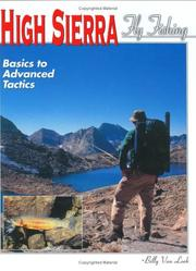Cover of: High Sierra fly fishing | Billy Van Loek