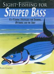 Cover of: Sight-fishing for striped bass