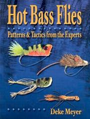 Cover of: Hot bass flies
