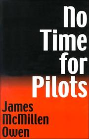 Cover of: No time for pilots