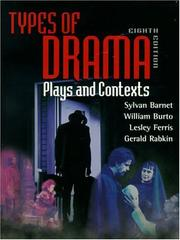 Cover of: Types of drama |