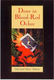 Cover of: Done in blood-red ochre