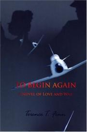 Cover of: To Begin Again | Terence T. Finn