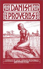 Cover of: Danish Proverbs