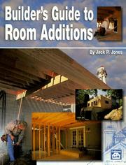 Builder's Guide to Room Additions by Jack Payne Jones