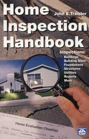 Cover of: Home inspection handbook