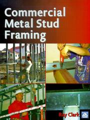 Cover of: Commercial metal stud framing