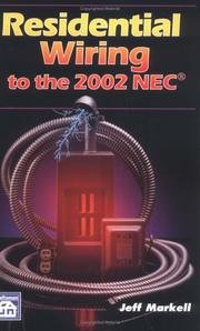 Cover of: Residential wiring to the 2002 NEC