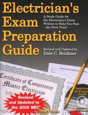 Cover of: Electrician's exam preparation guide