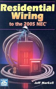 Cover of: Residential Wiring To The 2005 NEC