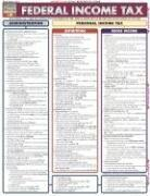 Cover of: Federal Income Tax Laminate Reference Chart (Quickstudy: Law) |