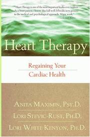Cover of: Heart therapy | Anita Maximin