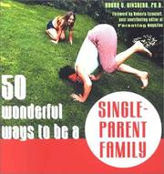 Cover of: 50 wonderful ways to be a single-parent family