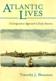 Cover of: Atlantic lives