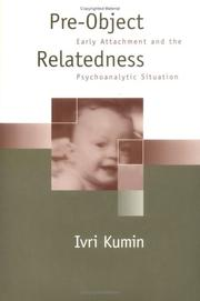 Cover of: Pre-Object Relatedness