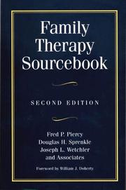 Cover of: Family therapy sourcebook