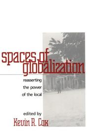 Cover of: Spaces of globalization |