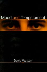 Cover of: Mood and temperament