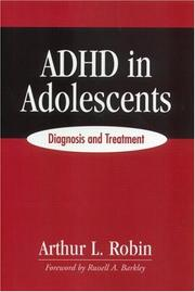 Cover of: ADHD in Adolescents