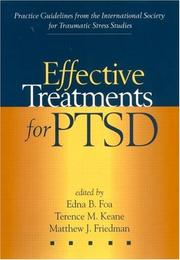 Cover of: Effective Treatments for PTSD |