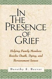 Cover of: In the Presence of Grief