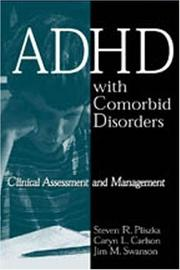 Cover of: ADHD with Comorbid Disorders | Steven R. Pliszka