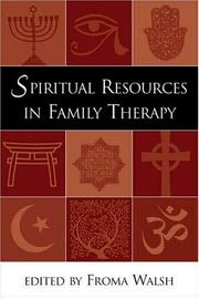 Cover of: Spiritual Resources in Family Therapy | Froma Walsh