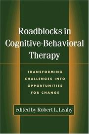 Cover of: Roadblocks in Cognitive-Behavioral Therapy