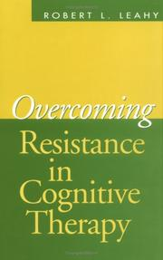 Cover of: Overcoming Resistance in Cognitive Therapy