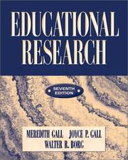 Cover of: Educational Research | Meredith D. Gall