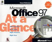 Cover of: Microsoft Office 97 at a glance |