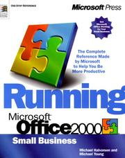 Running Microsoft Office 2000 by Michael Halvorson