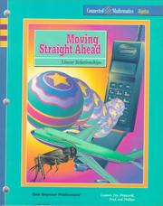 Cover of: Moving Straight Ahead | Glenda Lappan