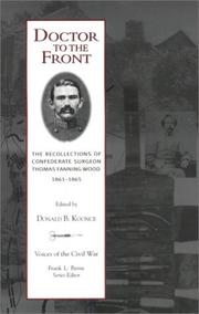 Cover of: Doctor to the front
